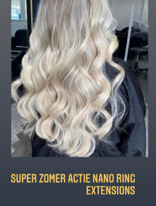 Hair Jewels Zomeractie nano ring extensions